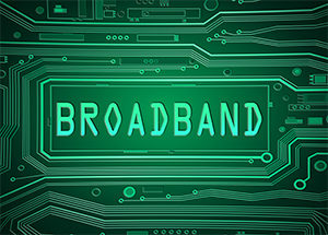 broadband, high speed Internet