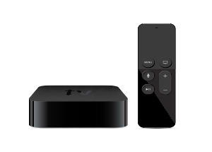 media player with remote apple