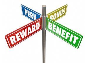 rewards perks