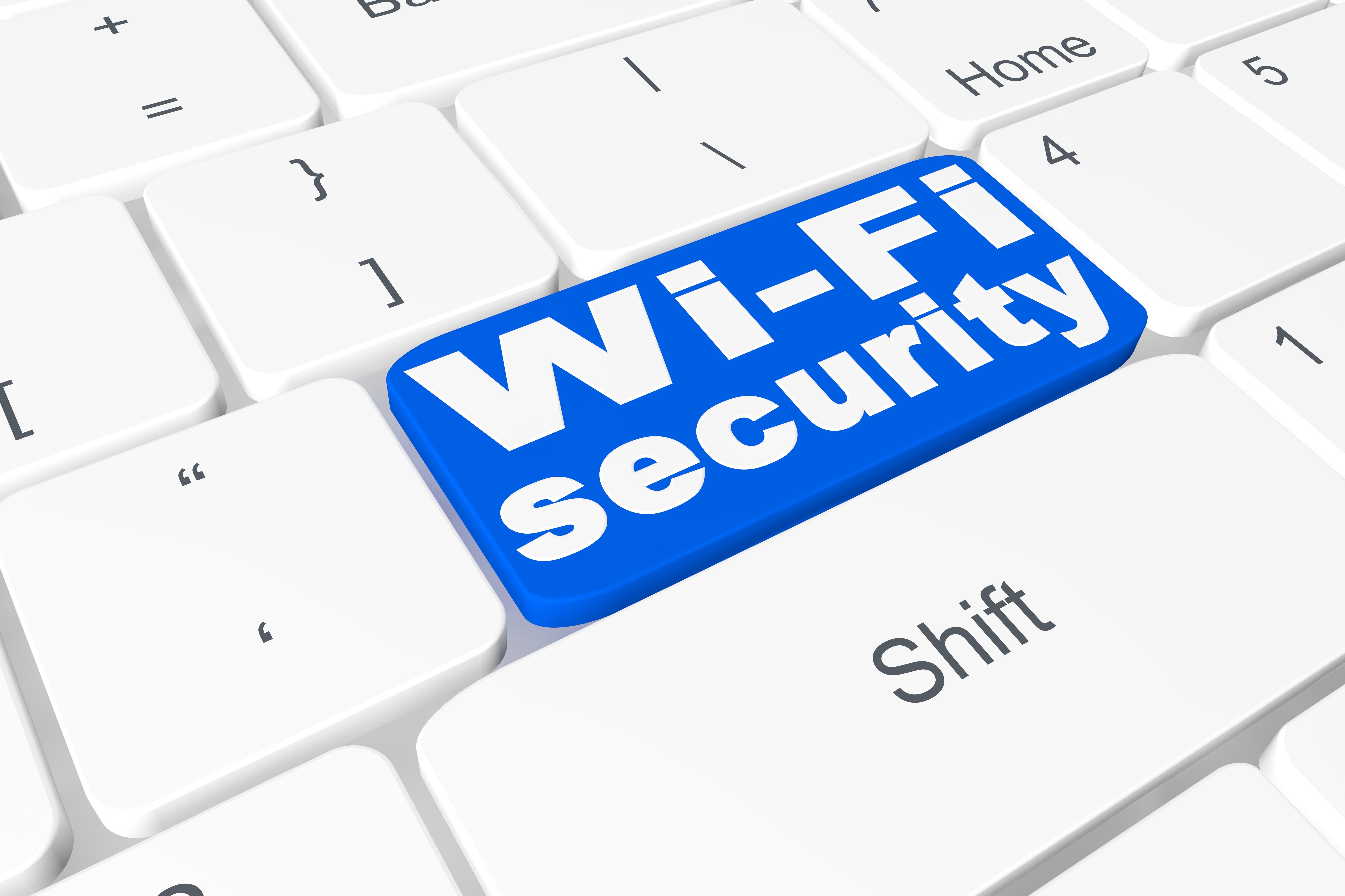 "Button ""wi-fi security"" on keyboard"