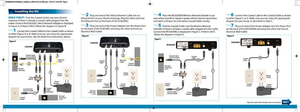 Wcb3000n Kit Quick Start Guide Actiontec Com