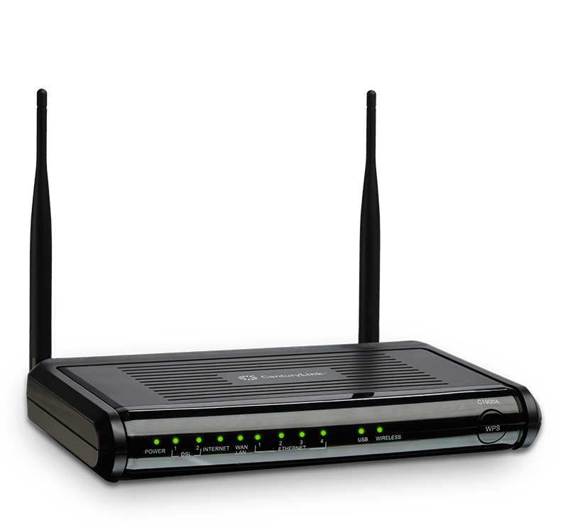 VDSL2 Modem Router C1900A for CenturyLink