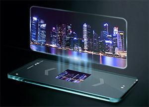 holographic smartphone