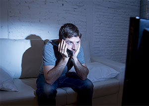 TV addict, binge watching