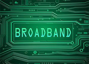 broadband, high speed Internet