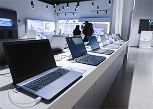 consumer technology retail store