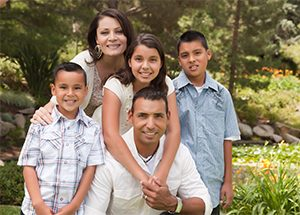 hispanic latino family