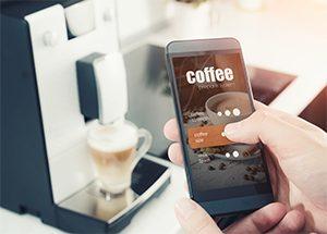 smart appliance coffee maker