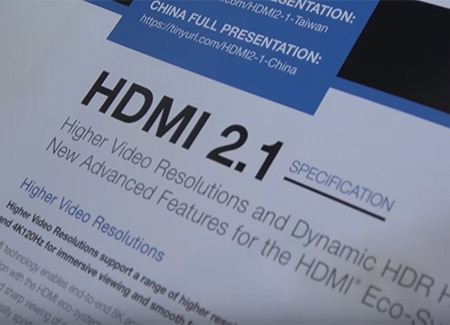 HDMI 2.1 TV is Here, Where are the Cables?