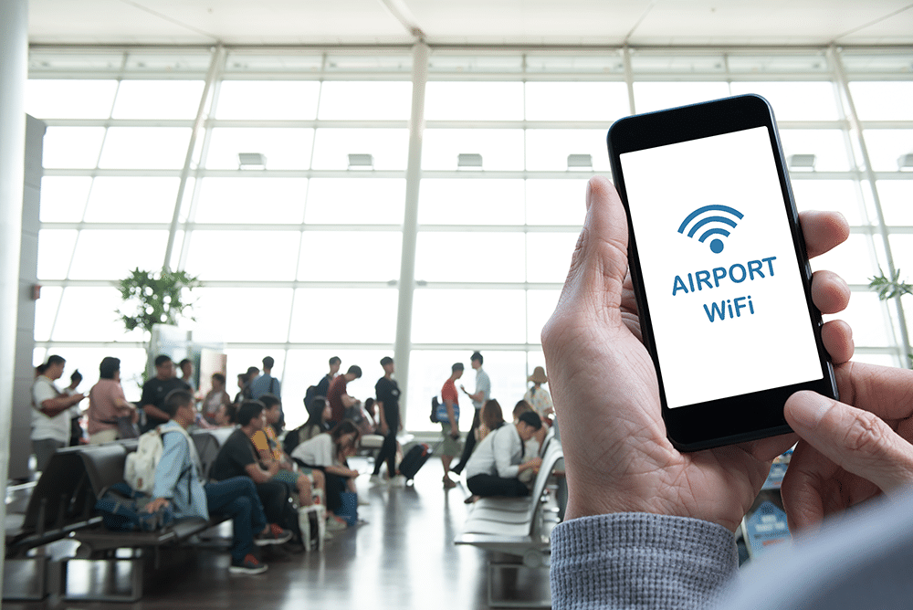 Want Better WiFi at the Airport? Here's How to Get It